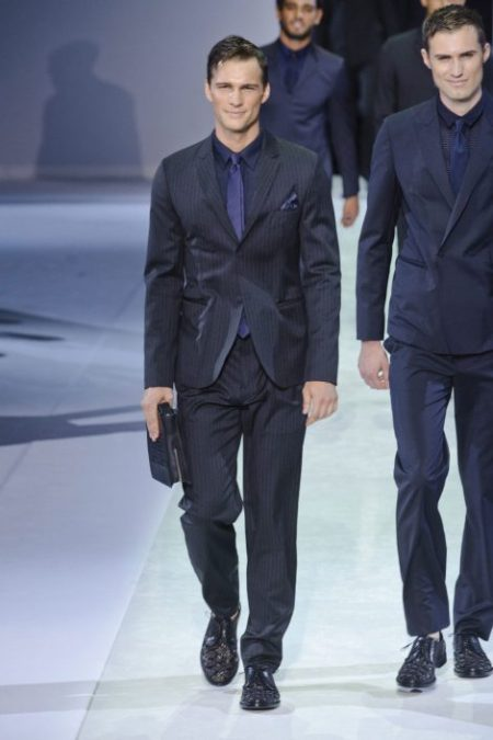 EMPORIO ARMANI SPRING SUMMER 2014 MENSWEAR COLLECTION (1)