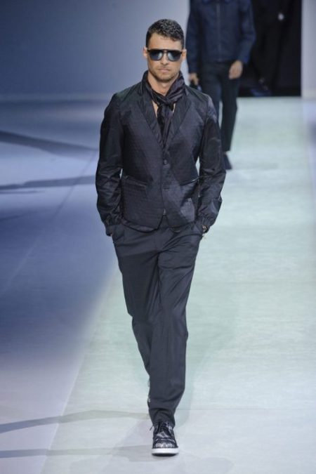 EMPORIO ARMANI SPRING SUMMER 2014 MENSWEAR COLLECTION (10)