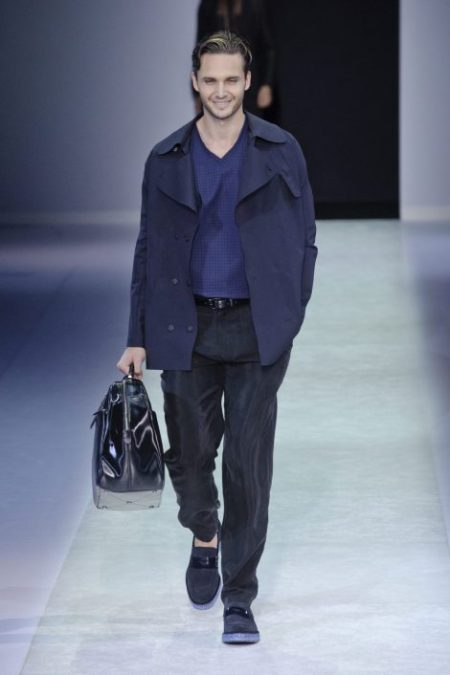 EMPORIO ARMANI SPRING SUMMER 2014 MENSWEAR COLLECTION (12)