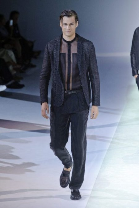 EMPORIO ARMANI SPRING SUMMER 2014 MENSWEAR COLLECTION (13)