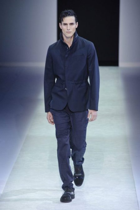 EMPORIO ARMANI SPRING SUMMER 2014 MENSWEAR COLLECTION (16)