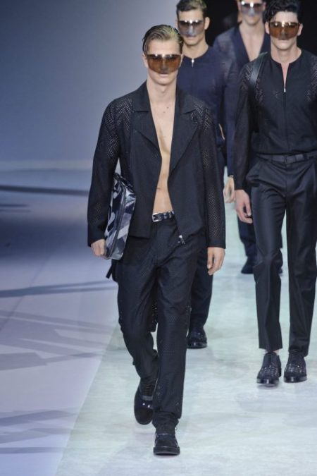 EMPORIO ARMANI SPRING SUMMER 2014 MENSWEAR COLLECTION (17)