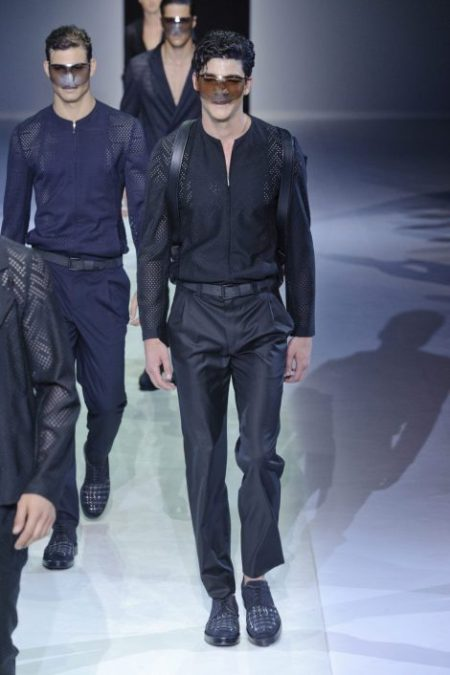 EMPORIO ARMANI SPRING SUMMER 2014 MENSWEAR COLLECTION (18)