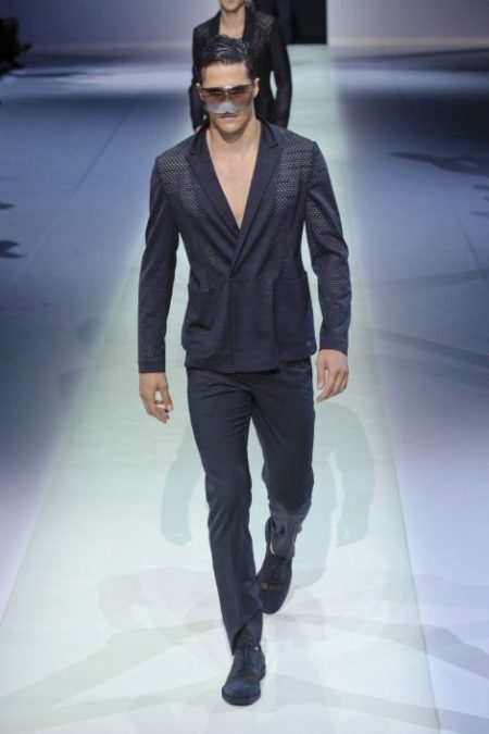 EMPORIO ARMANI SPRING SUMMER 2014 MENSWEAR COLLECTION (20)
