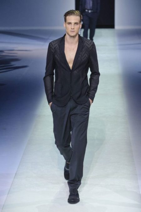 EMPORIO ARMANI SPRING SUMMER 2014 MENSWEAR COLLECTION (21)