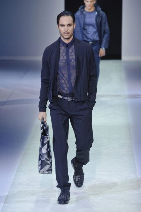 EMPORIO ARMANI SPRING SUMMER 2014 MENSWEAR COLLECTION (22)