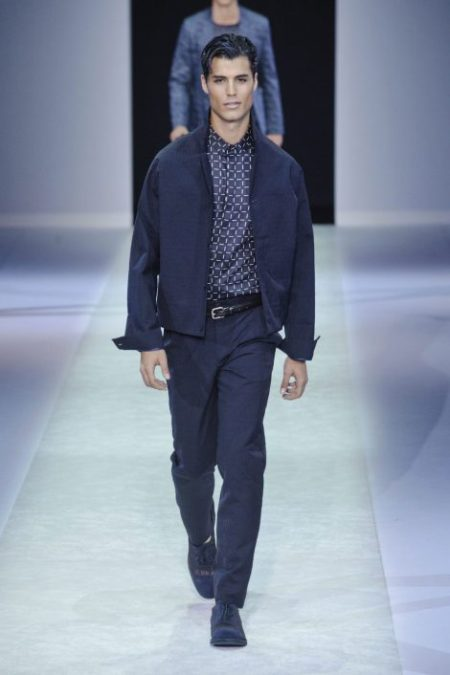 EMPORIO ARMANI SPRING SUMMER 2014 MENSWEAR COLLECTION (24)