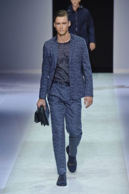 EMPORIO ARMANI SPRING SUMMER 2014 MENSWEAR COLLECTION (25)