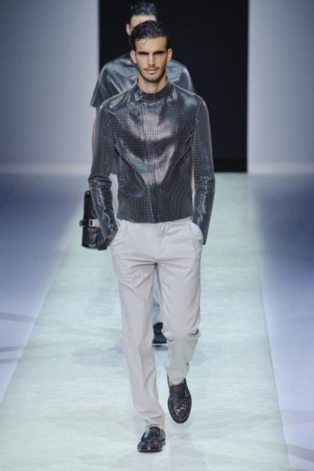 EMPORIO ARMANI SPRING SUMMER 2014 MENSWEAR COLLECTION (30)