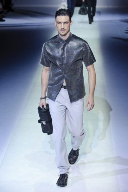 EMPORIO ARMANI SPRING SUMMER 2014 MENSWEAR COLLECTION (31)