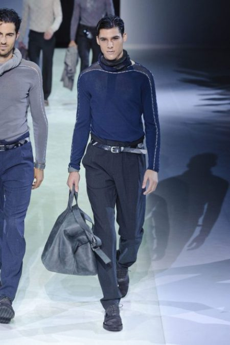 EMPORIO ARMANI SPRING SUMMER 2014 MENSWEAR COLLECTION (33)
