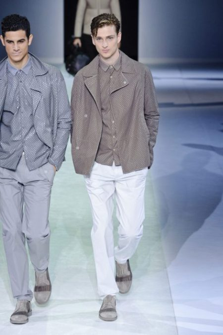 EMPORIO ARMANI SPRING SUMMER 2014 MENSWEAR COLLECTION (37)