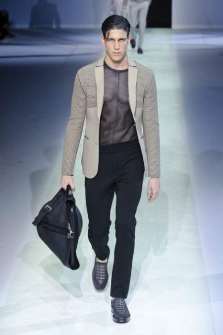EMPORIO ARMANI SPRING SUMMER 2014 MENSWEAR COLLECTION (39)