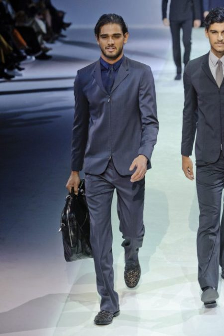 EMPORIO ARMANI SPRING SUMMER 2014 MENSWEAR COLLECTION (4)