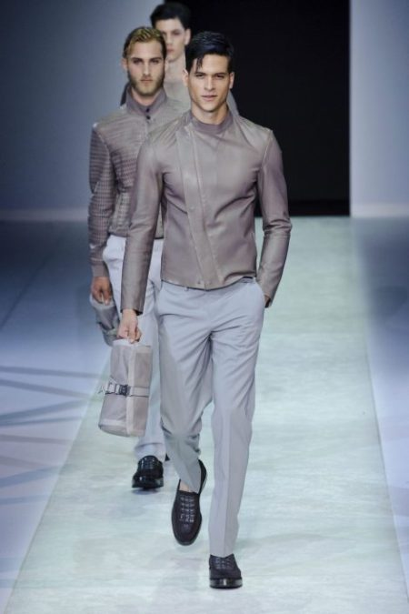 EMPORIO ARMANI SPRING SUMMER 2014 MENSWEAR COLLECTION (40)