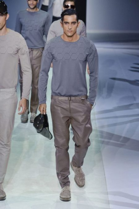 EMPORIO ARMANI SPRING SUMMER 2014 MENSWEAR COLLECTION (45)