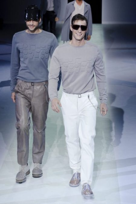 EMPORIO ARMANI SPRING SUMMER 2014 MENSWEAR COLLECTION (47)