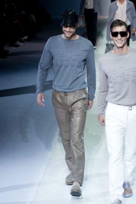 EMPORIO ARMANI SPRING SUMMER 2014 MENSWEAR COLLECTION (48)