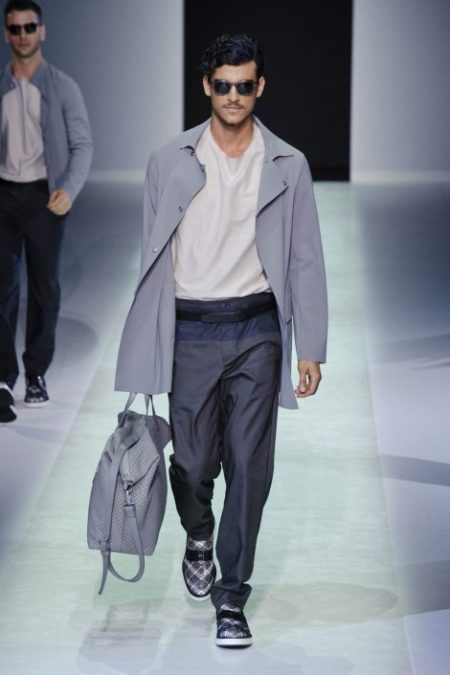 EMPORIO ARMANI SPRING SUMMER 2014 MENSWEAR COLLECTION (49)