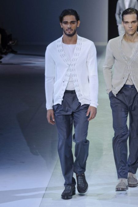 EMPORIO ARMANI SPRING SUMMER 2014 MENSWEAR COLLECTION (51)