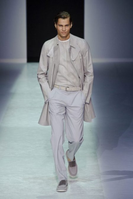 EMPORIO ARMANI SPRING SUMMER 2014 MENSWEAR COLLECTION (57)