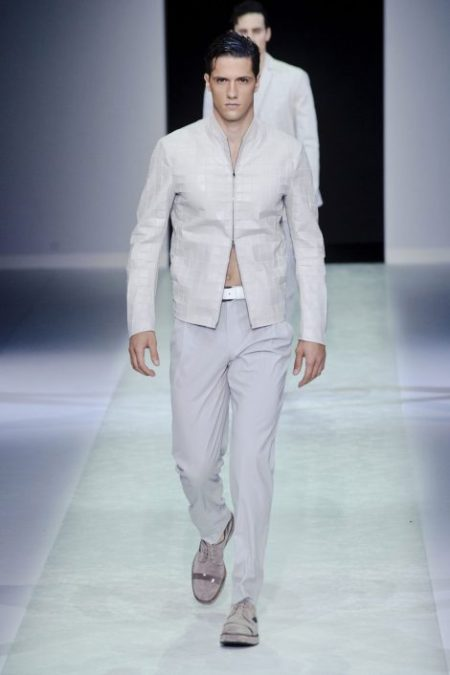 EMPORIO ARMANI SPRING SUMMER 2014 MENSWEAR COLLECTION (58)
