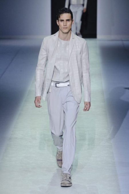 EMPORIO ARMANI SPRING SUMMER 2014 MENSWEAR COLLECTION (59)