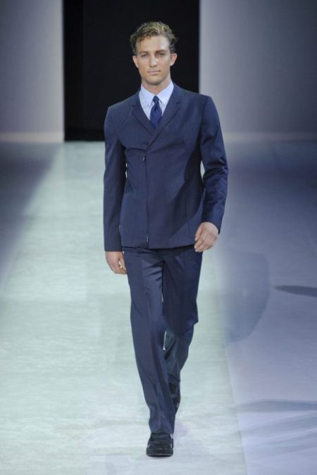 EMPORIO ARMANI SPRING SUMMER 2014 MENSWEAR COLLECTION (6)