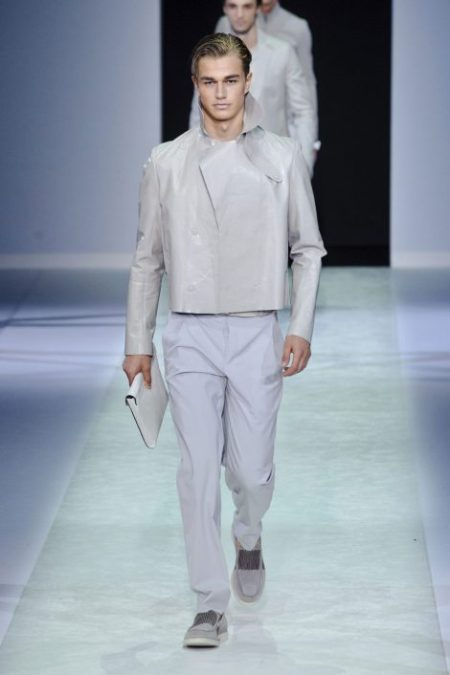 EMPORIO ARMANI SPRING SUMMER 2014 MENSWEAR COLLECTION (60)