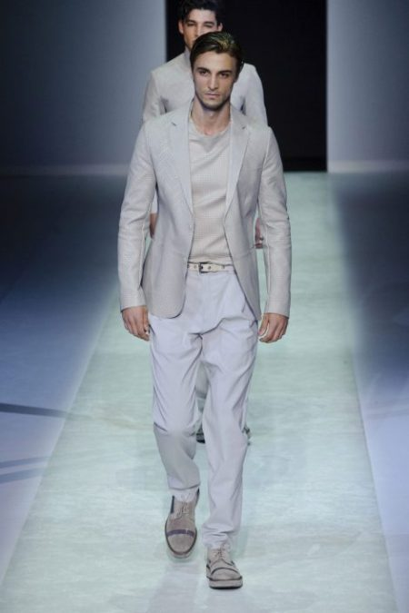 EMPORIO ARMANI SPRING SUMMER 2014 MENSWEAR COLLECTION (61)