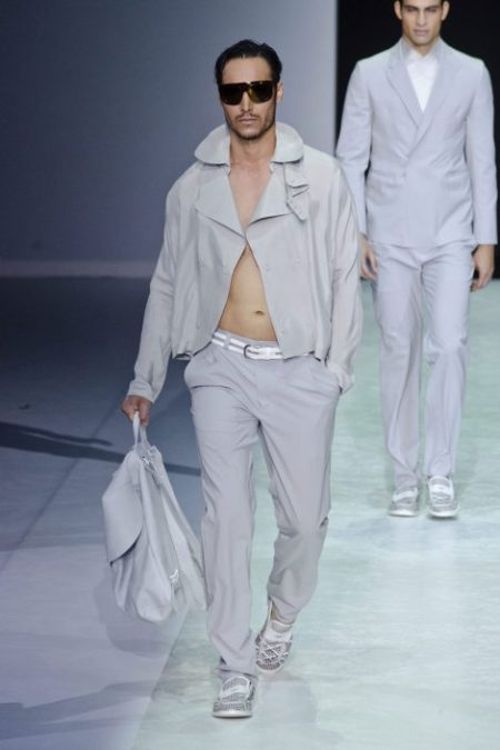 EMPORIO ARMANI SPRING SUMMER 2014 MENSWEAR COLLECTION (63)