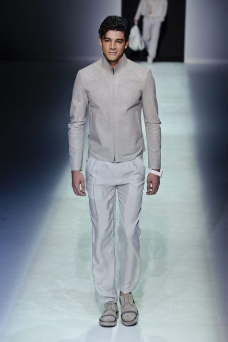 EMPORIO ARMANI SPRING SUMMER 2014 MENSWEAR COLLECTION (65)