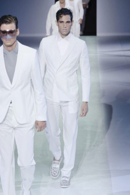 EMPORIO ARMANI SPRING SUMMER 2014 MENSWEAR COLLECTION (68)