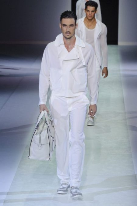 EMPORIO ARMANI SPRING SUMMER 2014 MENSWEAR COLLECTION (69)