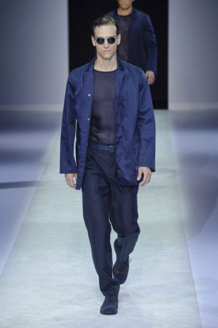 EMPORIO ARMANI SPRING SUMMER 2014 MENSWEAR COLLECTION (7)