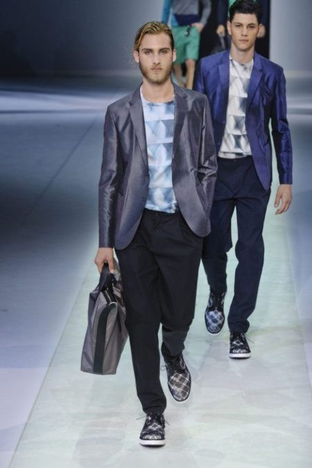 EMPORIO ARMANI SPRING SUMMER 2014 MENSWEAR COLLECTION (82)