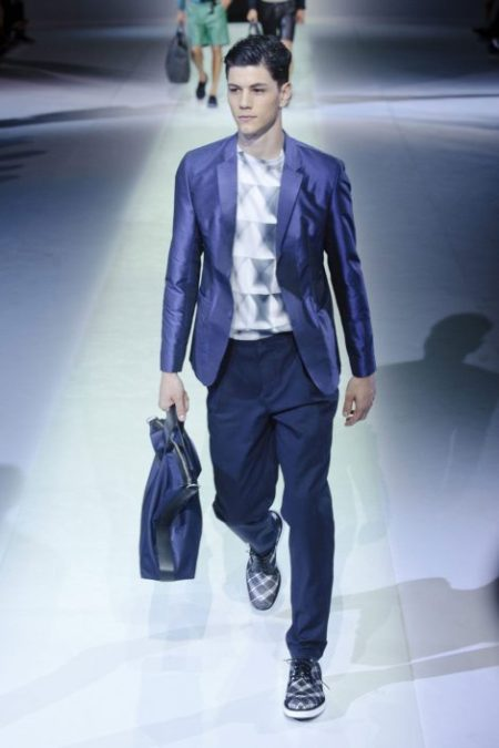 EMPORIO ARMANI SPRING SUMMER 2014 MENSWEAR COLLECTION (83)
