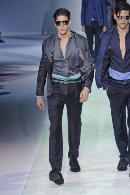 EMPORIO ARMANI SPRING SUMMER 2014 MENSWEAR COLLECTION (89)