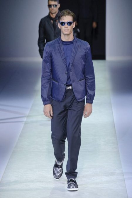 EMPORIO ARMANI SPRING SUMMER 2014 MENSWEAR COLLECTION (9)