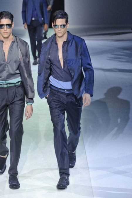 EMPORIO ARMANI SPRING SUMMER 2014 MENSWEAR COLLECTION (90)
