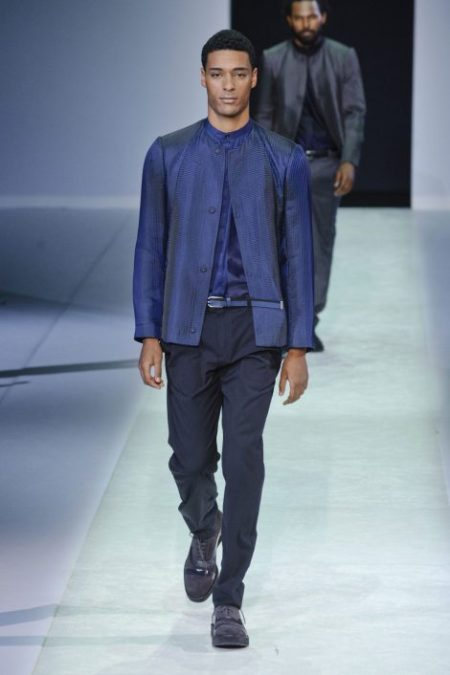 EMPORIO ARMANI SPRING SUMMER 2014 MENSWEAR COLLECTION (91)