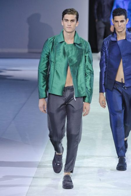 EMPORIO ARMANI SPRING SUMMER 2014 MENSWEAR COLLECTION (93)