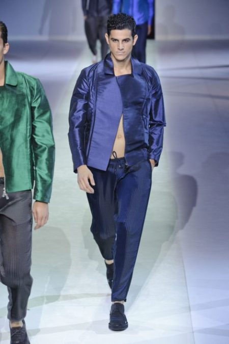 EMPORIO ARMANI SPRING SUMMER 2014 MENSWEAR COLLECTION (94)