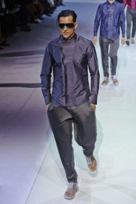 EMPORIO ARMANI SPRING SUMMER 2014 MENSWEAR COLLECTION (96)