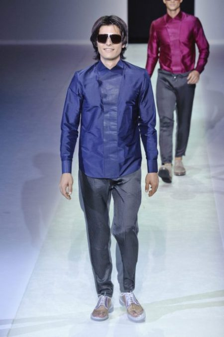 EMPORIO ARMANI SPRING SUMMER 2014 MENSWEAR COLLECTION (97)
