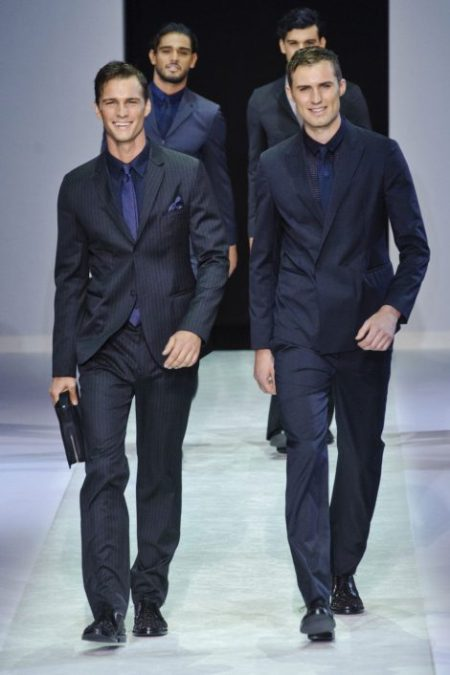 EMPORIO ARMANI SPRING SUMMER 2014 MENSWEAR COLLECTION