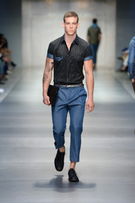 ERMANNO SCERVINO SPRING SUMMER 2014 MENSWEAR COLLECTION (20)