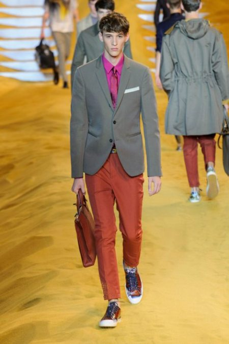 FENDI SPRING SUMMER 2014 MENSWEAR COLLECTION (1)