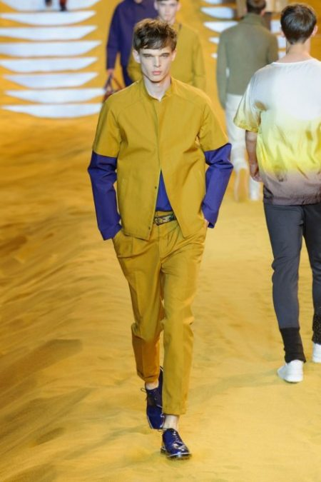 FENDI SPRING SUMMER 2014 MENSWEAR COLLECTION (14)