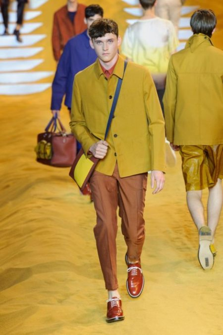 FENDI SPRING SUMMER 2014 MENSWEAR COLLECTION (15)